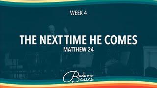 Back to the Basics | Week 4
