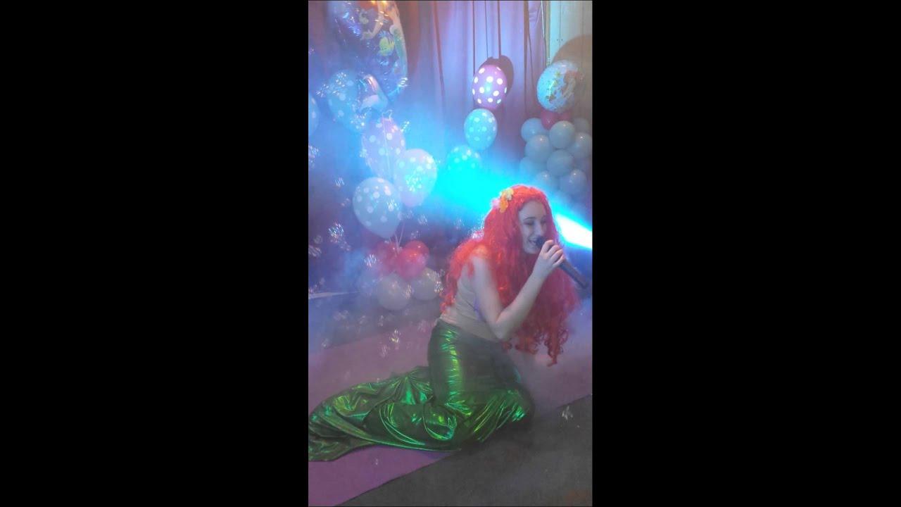 Matrimonio Tema Sirenetta : Quot festa a tema sirenetta in fondo al mar youtube