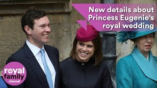 New details about Princess Eugenie's royal wedding emerge