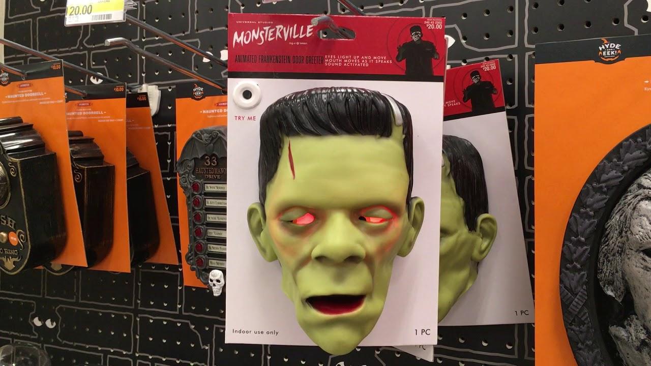 Target Halloween 2017 Fraknenstein Doorbell  sc 1 st  YouTube & Target Halloween 2017 Fraknenstein Doorbell - YouTube