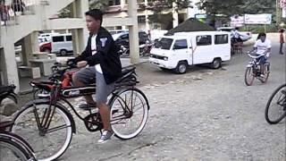 vintage bicycle parade