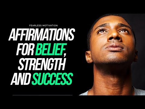 'I WILL BE GREAT' - Powerful Affirmations For Belief, Strength and SUCCESS!