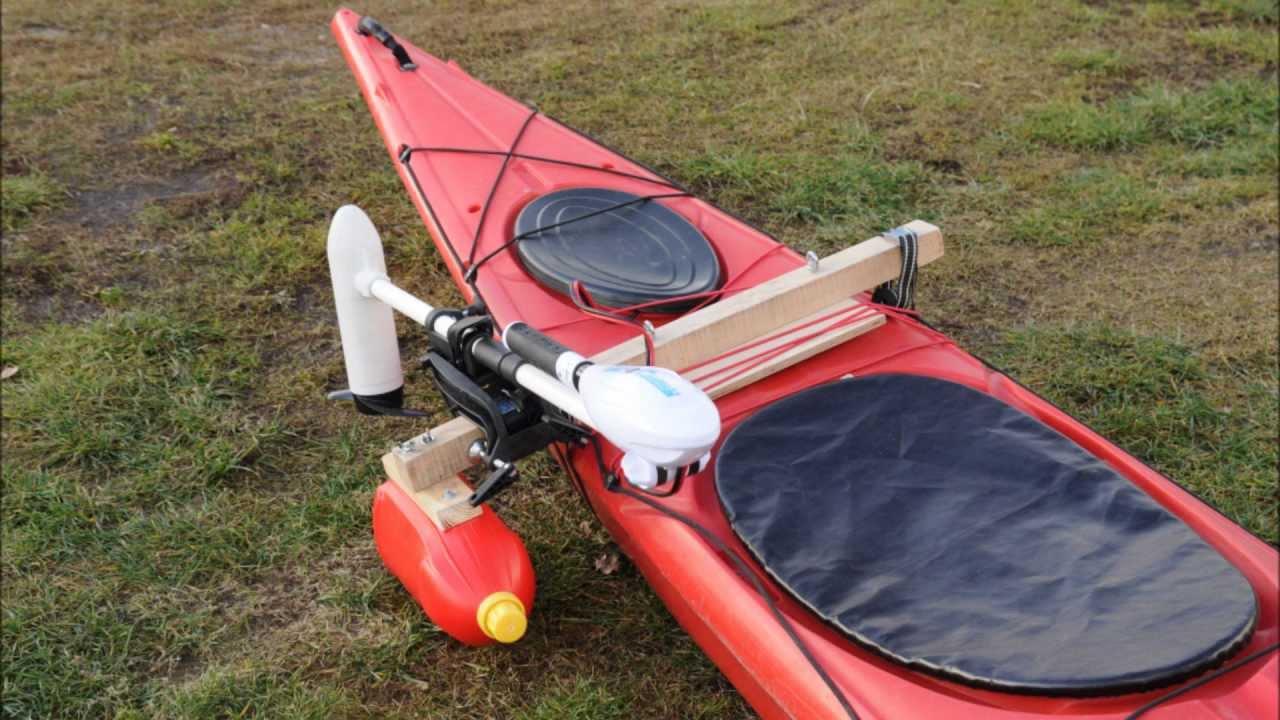 how to mount trolling motor on kayak