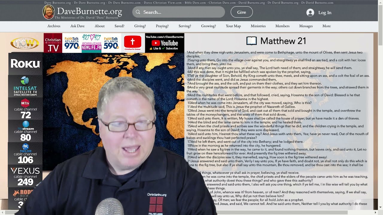 Matthew 21 ✒️ Jesus is the Messiah