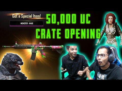 50,000 UC CRATE OPENING   FINALLY I GOT EVERYTHING   PUBG MOBILE   Kronten Gaming