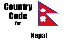 Nepal Dialing Code - Nepalese Country Code - Telephone Area Codes in Nepal