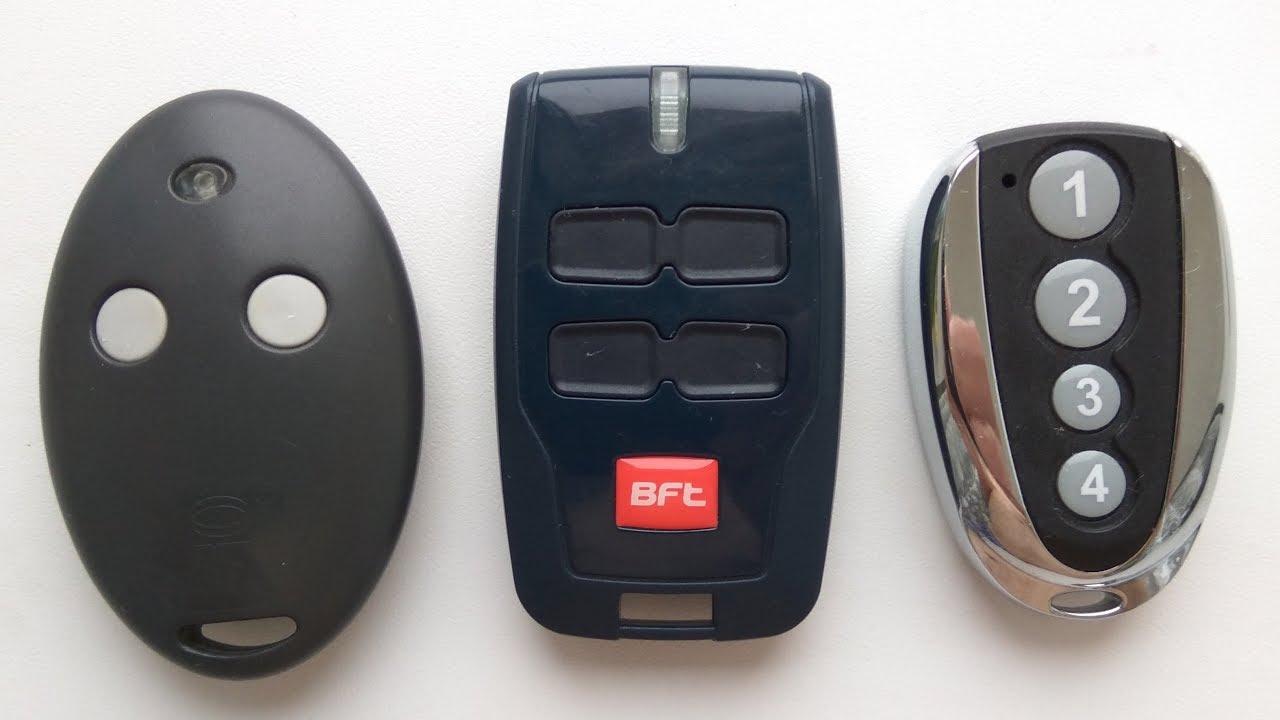 Особенности копирования пульта BFT на универсальный брелок Фикс для шлагбаума и ворот. Урок №3
