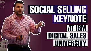 Social Selling Keynote at IBM Digital Sales University(Keynote presentation on Social Selling at IBM's Digital Sales University conference in Bogota, Colombia. About Carlos Gil: Carlos Gil is an innovative, fully ..., 2015-10-14T22:34:07.000Z)