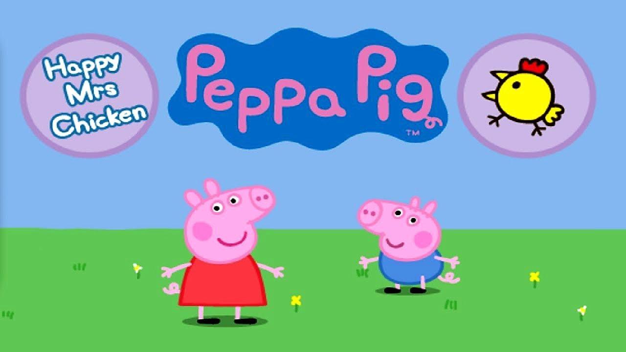 PEPPA PIG: Happy Mrs Chicken - full Gameplay | Peppa Pig Games | Best Peppa  app demo for kids