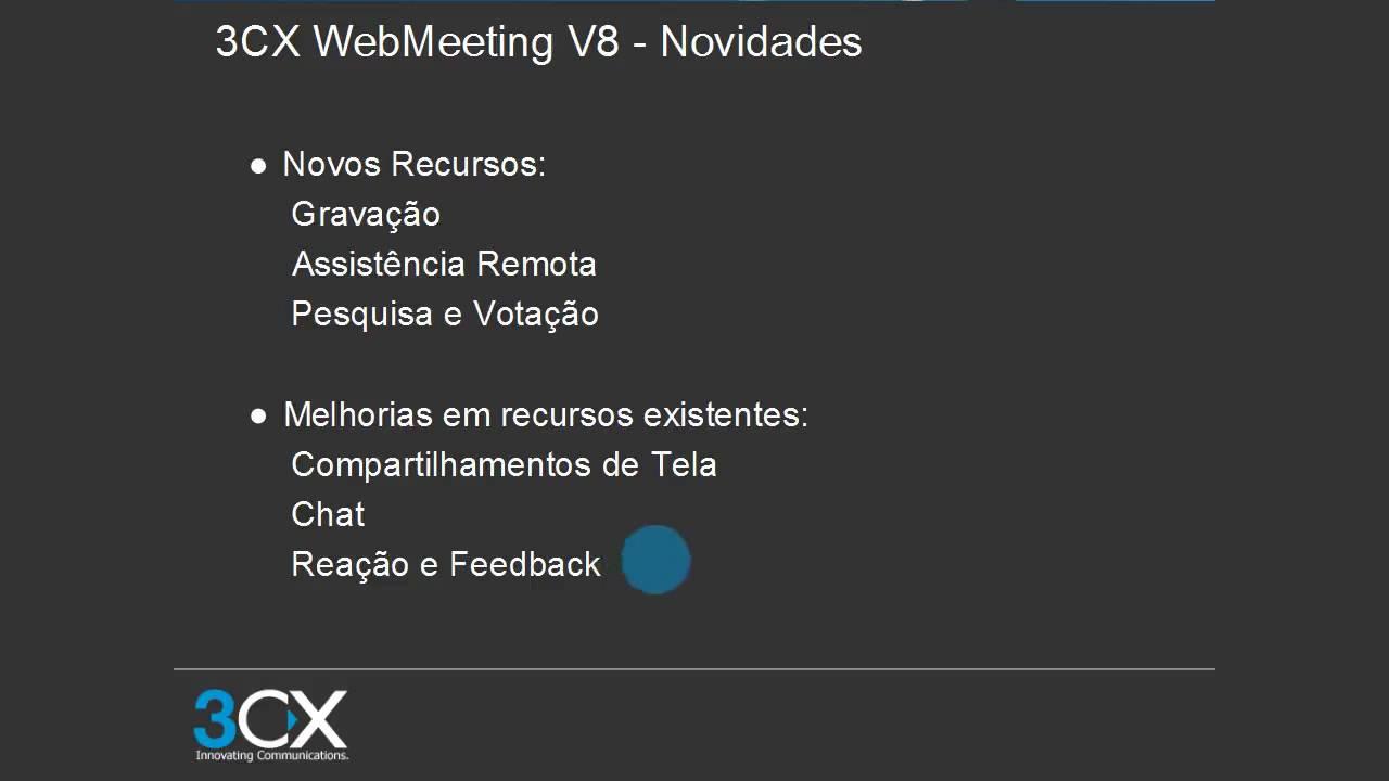 WITEC Webinar 3CX Webmeeting