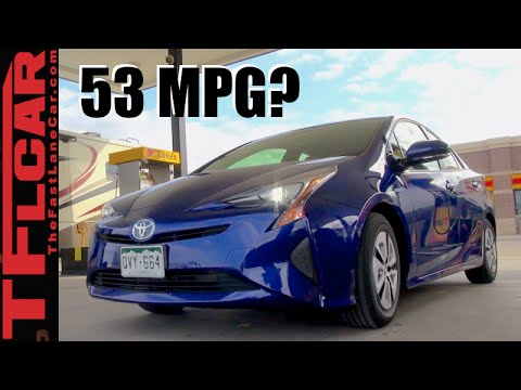 2016 Toyota Prius Two Eco Mpg Review Can The Get 53 On Highway