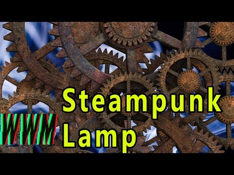 SteamPunk/Industrial Pipe Lamp