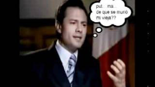 Repeat youtube video Peña Nieto olvida en entrevista la causa de muerte de su esposa