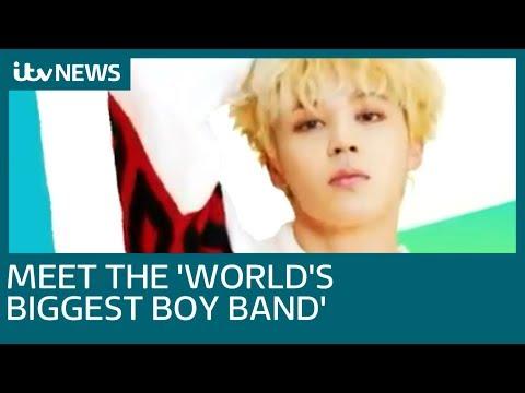 South Korean boy band BTS - Bangtan Boys - send fans wild at London's O2 Arena   ITV News