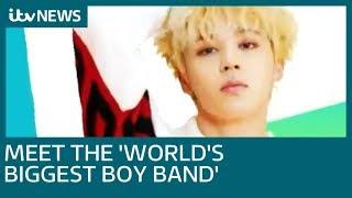 South Korean boy band BTS - Bangtan Boys - send fans wild at London's O2 Arena | ITV News