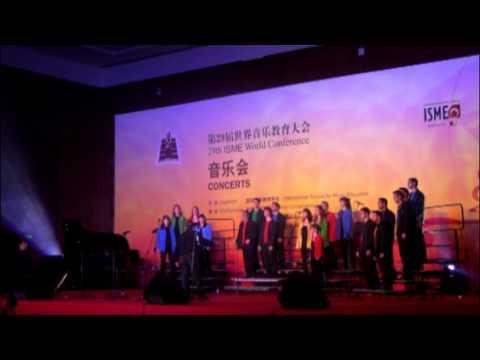 Coral Allegro ONCE Valencia - Concierto Beijing - Imagine