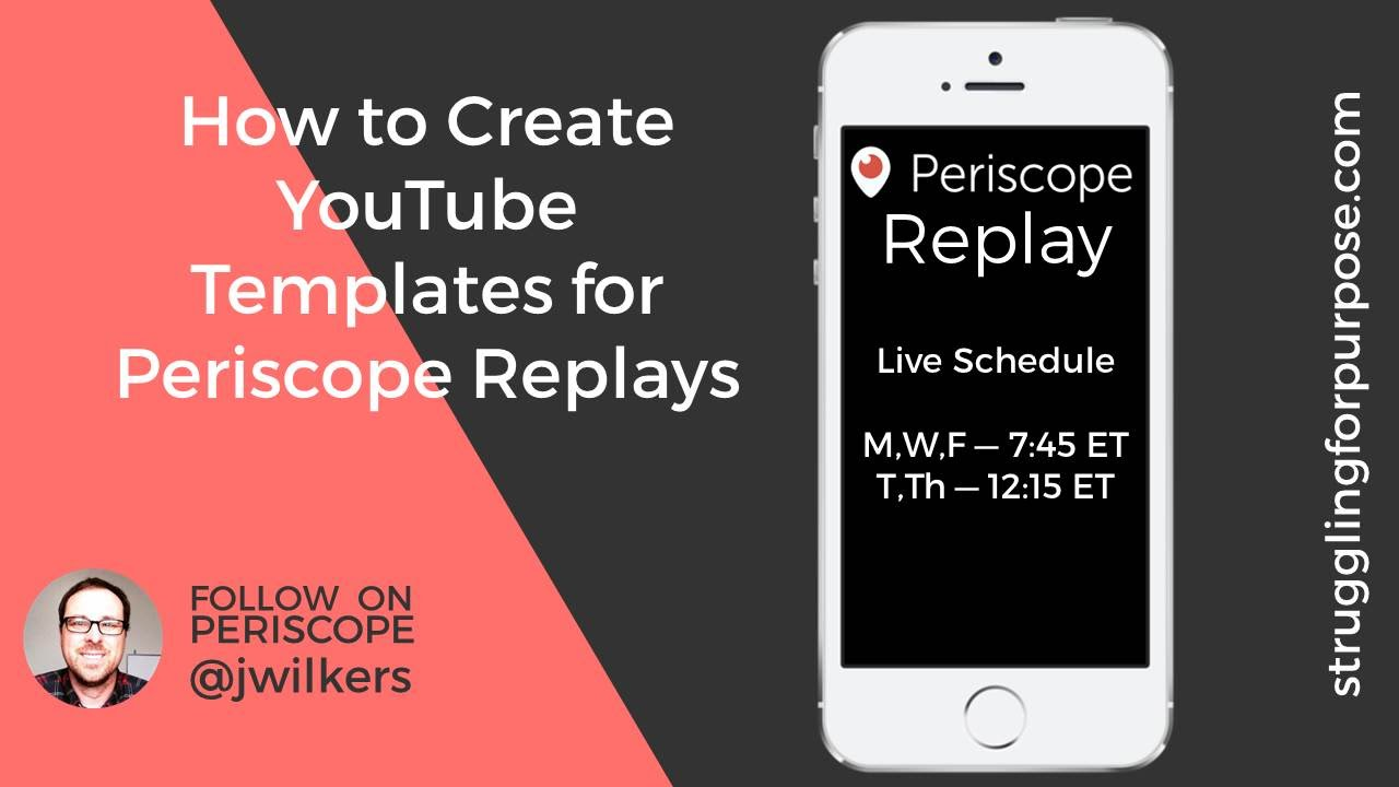 How To Make A Periscope Template With Point
