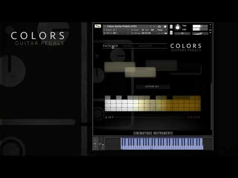 Colors Guitar Pedal - Sound Check While Playing Presets