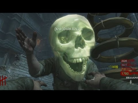 So I Was Put Into A Hacked Zombies Lobby (World at War Nazi Zombies Der Riese)