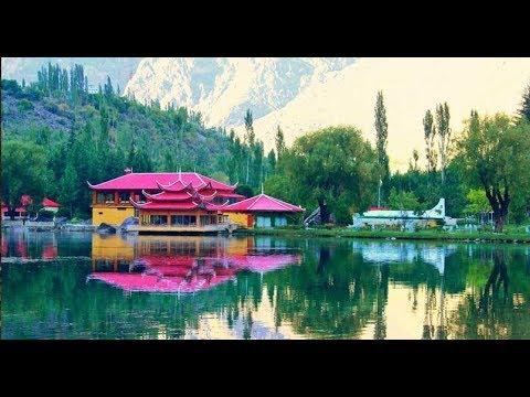 Shangrila Resort Skardu Pakistan 2018 HD Drone Camera View