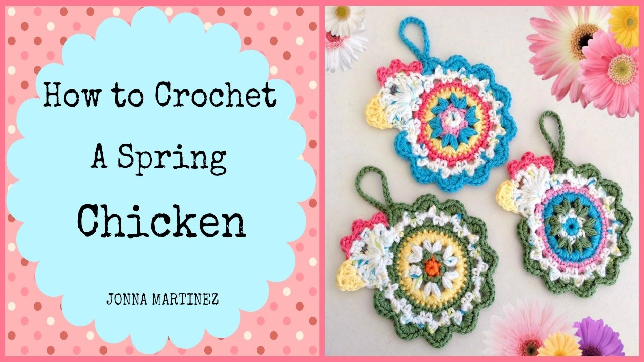 How to Crochet a Spring Chicken - YouTube