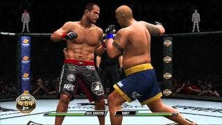 UFC Undisputed 3 Gameplay ~ Junior Dos Santos vs Mark Hunt
