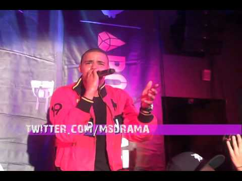 Fans hold down J.Cole with Lyrics at his Secret Show in NYC!