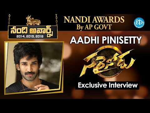 Sarrainodu Movie || Aadhi Pinisetty Exclusive Full Interview || Talking Movies with iDream # 155