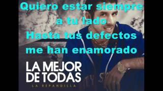 La Repandilla - La mejor de todas (Pistas Martín) KARAOKE
