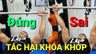 KHÓA KHỚP - Các Sai Lầm Cần Tránh Để Tập Luyện Hiệu Quả Hơn - HLV Ryan Long Fitness