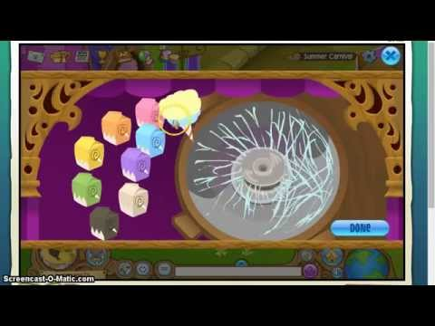 Animal Jam Summer Carnival: Cotton Candy Machine
