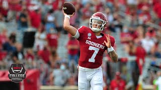Spencer Rattler throws 4 TDs in first Oklahoma start | 2020 College Football Highlights