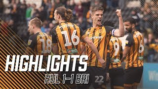 Hull City 1-1 Bristol City | Highlights | Sky Bet Championship
