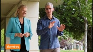 Apple Puts IBM Rivalry to Rest