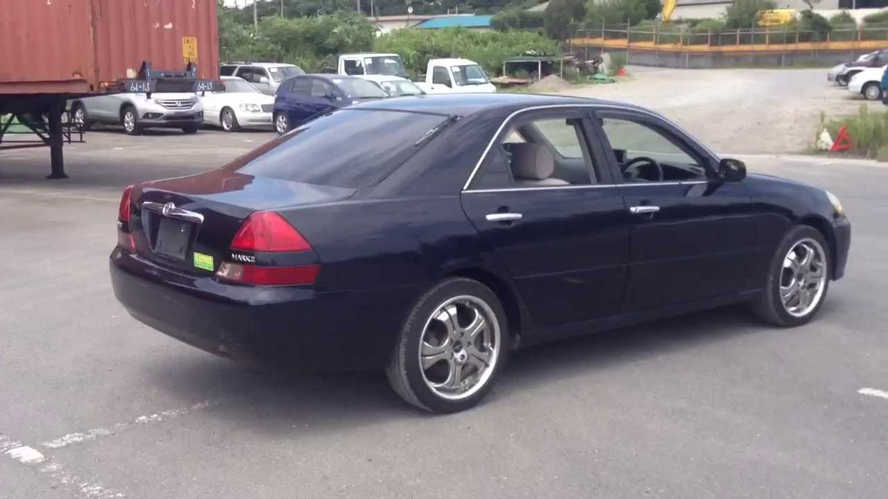Stock No 2104 Toyota Mark Ii Grande 2000 Youtube