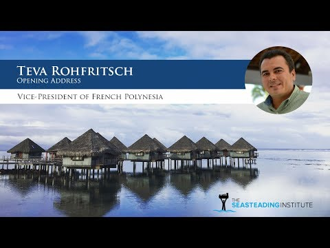 French Polynesian Vice President Teva Rohfritsch Delivers Opening Address