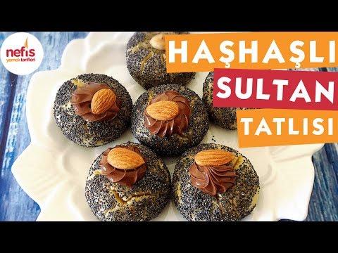 haşhaşlı sultan tatlısı  şerbetli tatlı tarifi  nefis yemek tarifleri