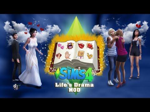 "TS4 Life's Drama ""MOD"" - V1.0 A Trailer"