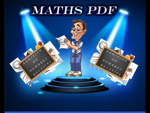 Addition de nombres relatifs : cours et exercices de maths en 5ème