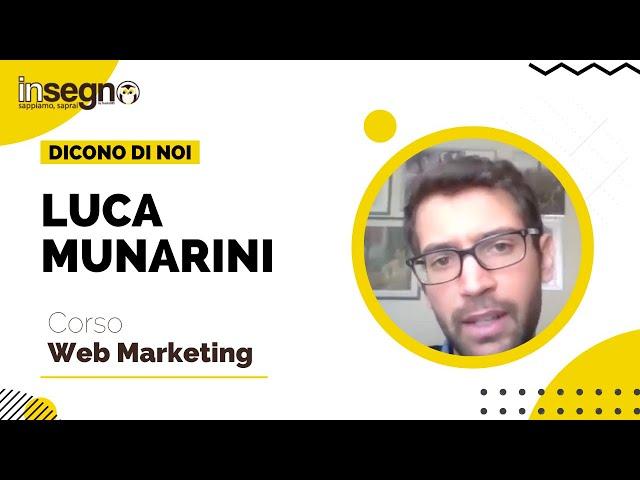 Luca Munarini - Corso Web Marketing