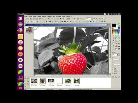 tutoriel colorer une partie d 39 une photo en noir et blanc sur photofiltre youtube. Black Bedroom Furniture Sets. Home Design Ideas