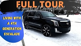 Full Tour of Our 4th Gen Cadillac Escalade!  Are they the better value before the new 2021?