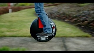 IGN Test Drives The Solowheel - CES 2013