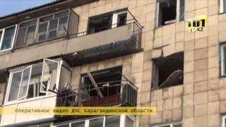 Произошел взрыв в многоквартирном доме Караганды