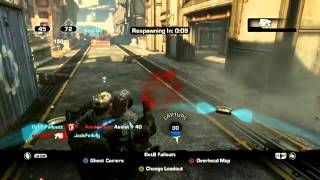 Gears of War with Black Tusk Developers #1 - Drydock King of the Hill