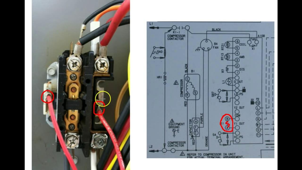 understanding hvac schematics 1 youtube rh youtube com nordyne relay wiring fan relay wiring diagram [ 1280 x 720 Pixel ]