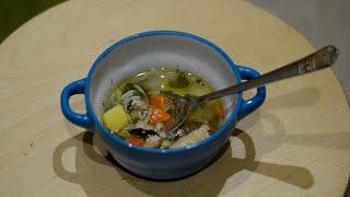 Как приготовить вкусный лёгкий куриный суп с вермишелью и картошкой рецепт