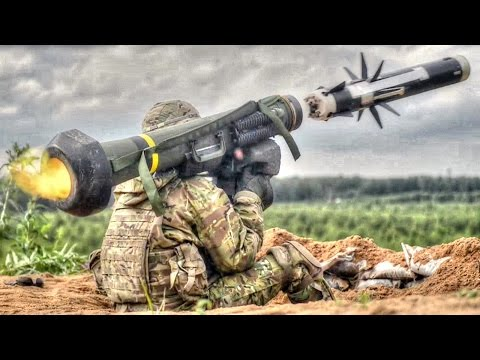 Army Soldiers Fire Javelin Anti-Tank Missile – Slow Motion
