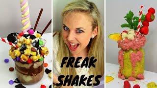EXTREME MILKSHAKE RECIPES - How to make Freakshakes at home