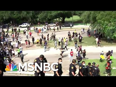 Protests Underway In Houston Where George Floyd Grew Up | MTP Daily | MSNBC